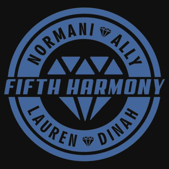 FIFTH HARMONY MEMBERS NAME BLUE CIRCLE LOGO. THIS ARTWORK AVAILABLE ON APPAREL, STICKER, PHONE CASE, AND 20 OTHER PRODUCTS. CHECK THEM OUT HARMONIZER. WE SHIPPING WORLDWIDE.