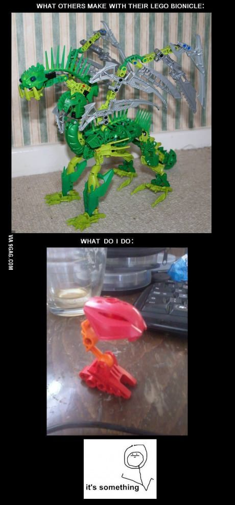 Lego Bionicle - well, it's something! - http://geekstumbles.com/funny/lego-bionicle-well-its-something/