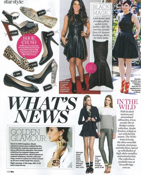 Who Magazine April 2012