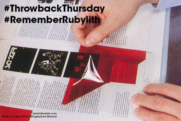 Graphic designers, do you remember rubylith for masking? #throwbackthursday