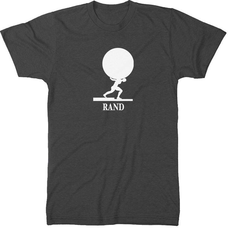 Men Literary T-Shirt Ayn Rand: Atlas Shrugged Book Art Gift for Book Lover - Teacher Bookish Apparel - Literary Gift - Who is John Galt by CreativeDaffodil on Etsy https://www.etsy.com/listing/191451179/men-literary-t-shirt-ayn-rand-atlas