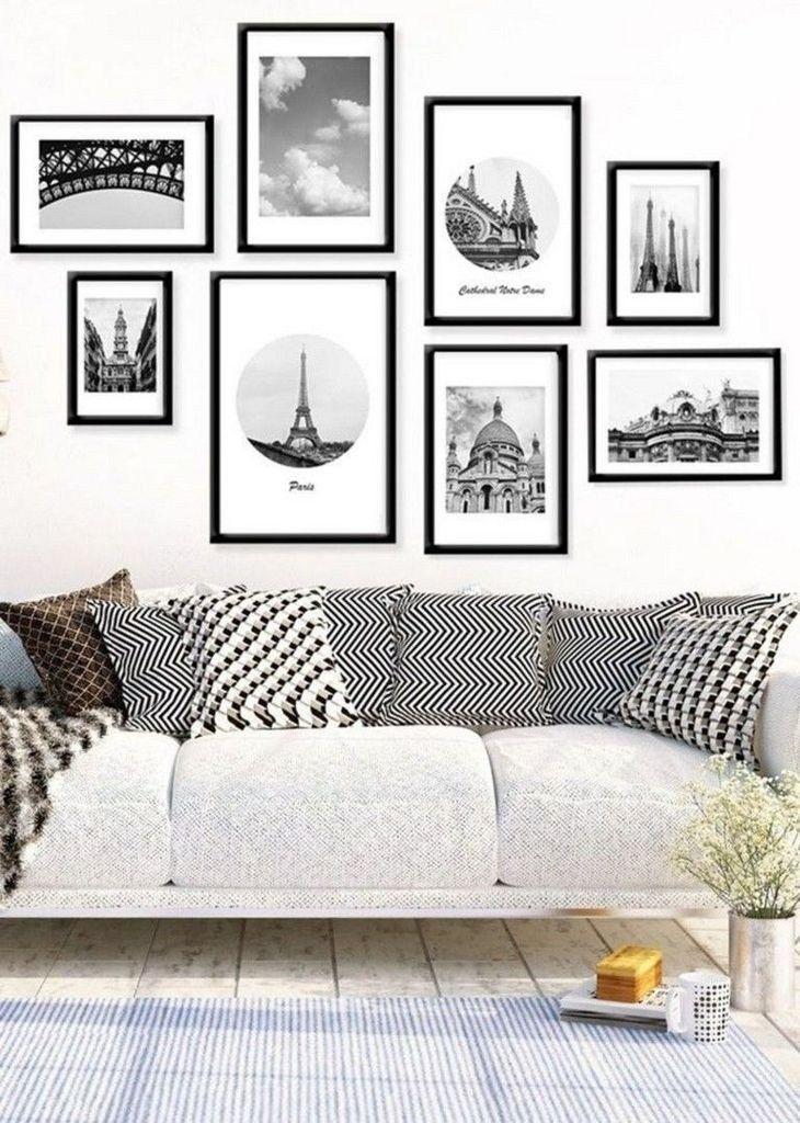 Creative Wall Art Design Idea For Living Room 37