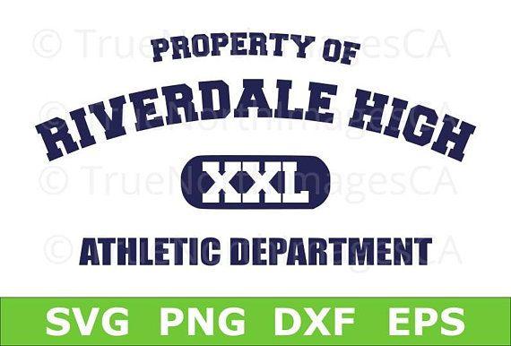 Riverdale SVG  / Archie Andrews / Jughead SVG / Riverdale High Athletic Department / svg Files for Cricut / Silhouette