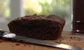 Chocoladetaart met amandelpoeder en agavesiroop door Piet Huysentruyt uit Smakelijk! op VIER