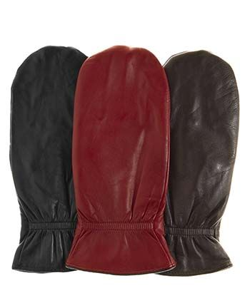 A soft sheepskin leather mitten is lined with a warm cozy C40 Thinsulate glove, to make what we call finger mittens and some other people call glittens (gloves+mittens). Whatever you call them these are very warm solution to winter cold hands.   Made with all the attention to detail and quality materials you expect from Pratt and Hart, now at a special introductory price.