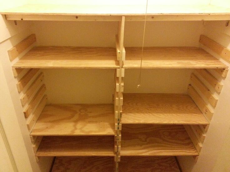 ... . | Woodworking projects | Pinterest | Shelves, Woods and Closet