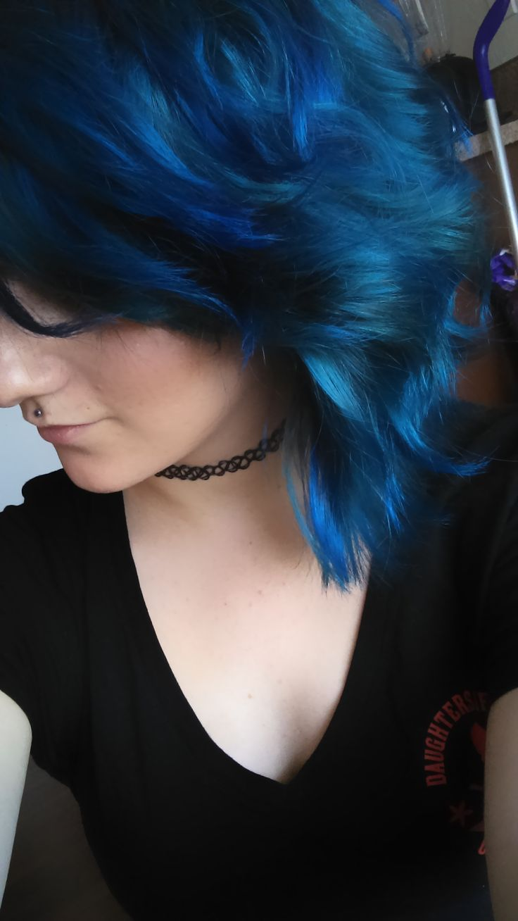 My Blue Locks Dried Like Ocean Waves Used Arctic Fox