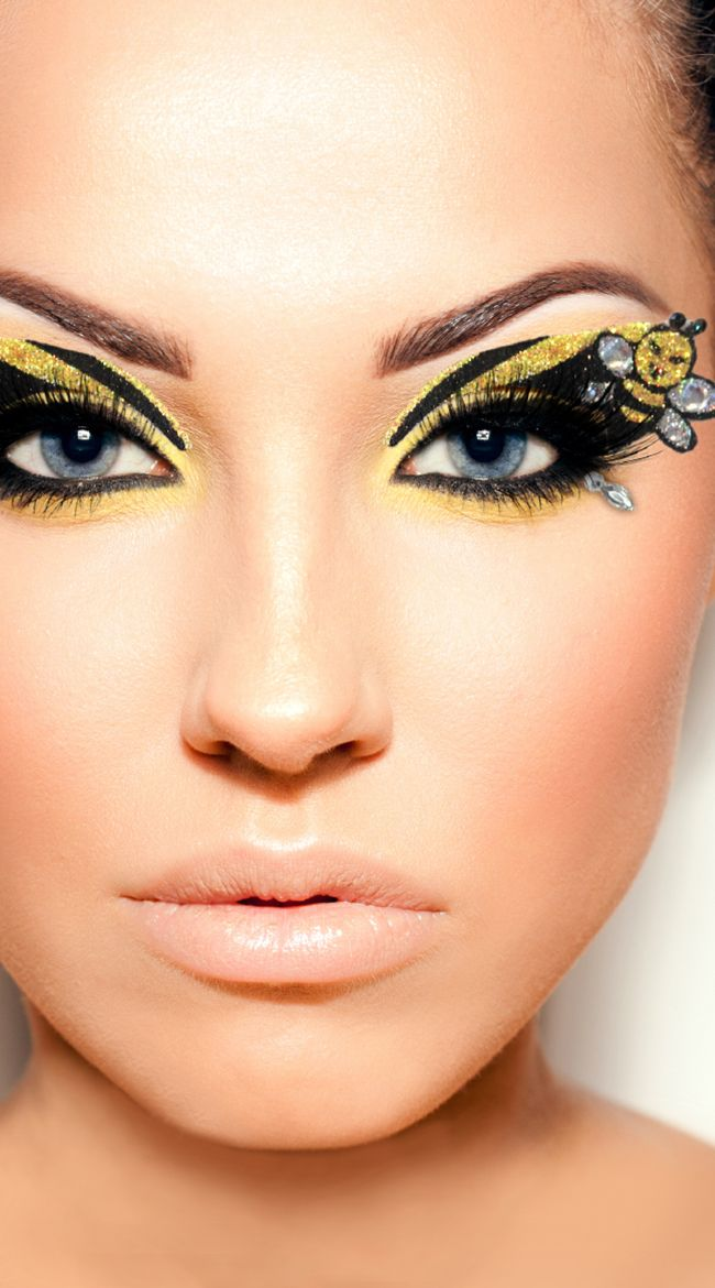Bee Makeup Costume - Mugeek Vidalondon