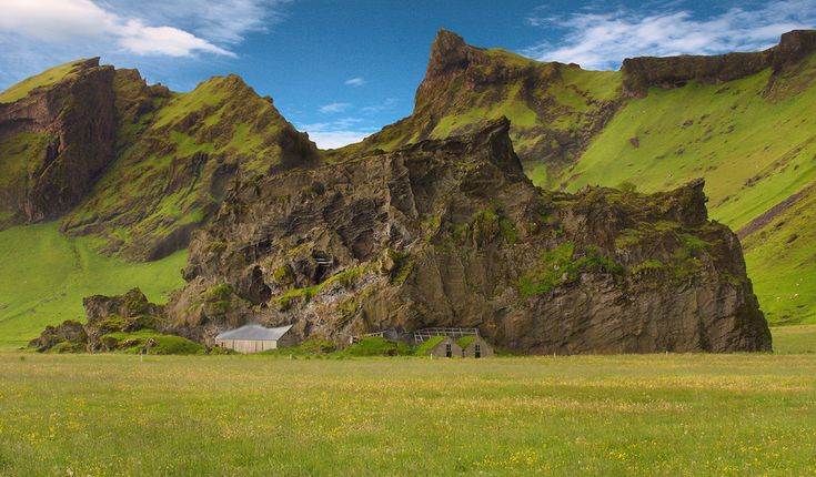 Rock houses, Iceland
