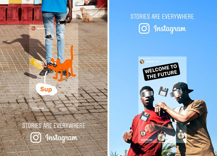 Wieden + Kennedy's First Ads for Instagram Were Made Almost Entirely Within the Stories App – Adweek