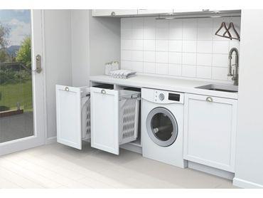SCL160D-W 60L Hidden Laundry Hamper