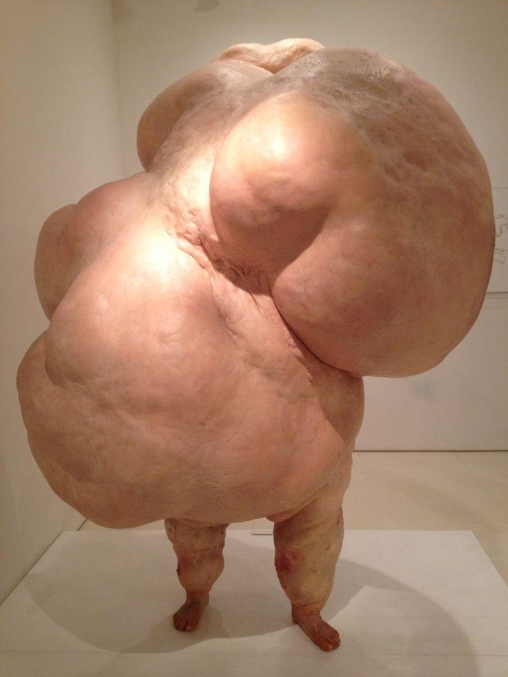 John Isaacs - I Can't Help the Way I Feel, 2003  my idea: obesity/deformation (tactile)