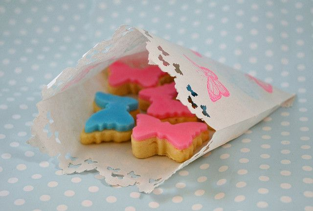 Mini Butterfly biscuits | Flickr - Photo Sharing!