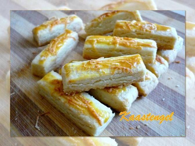 Kaastengels. Indonesian Cheese cookies.