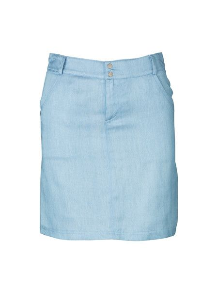 VIKTORIA & WOODS - Amos Mini Skirt - Denim - Vintage Feel - Thick Stretch Denim $159.90