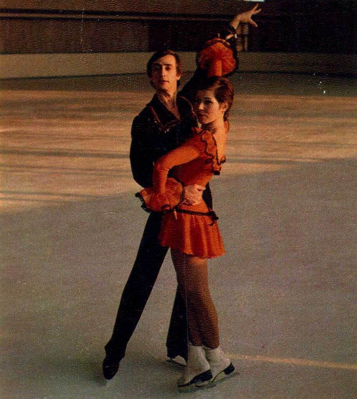 Lyudmila Pakhomova and Alexander Gorshkov Honored masters of sports of the USSR (figure skating), repeated champions of the USSR, Europe, the world, champions of the XII Winter Olympic Games in ice dancing sports. For the high sport achievements in the competitions of the XII Winter Olympic Games were awarded the Order of the Red Banner of Labor.