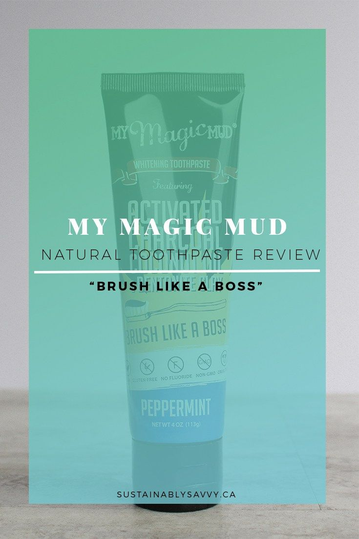 MY MAGIC MUD TOOTHPASTE REVIEW