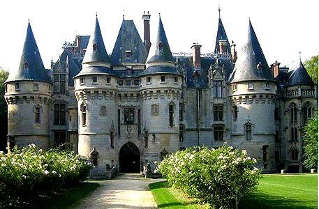 Château de Vigny, Vigny, Val-d'Oise, Île-de-France, France - www.castlesandmanorhouses.com