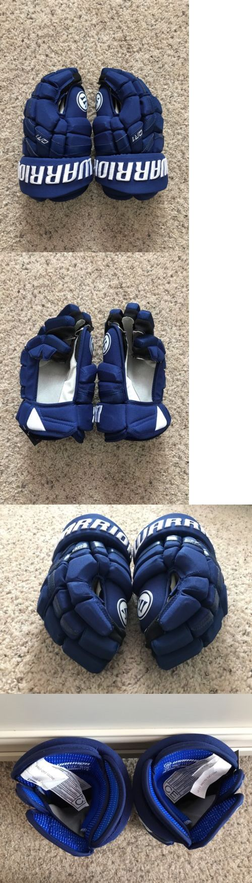 Gloves 20853: Warrior Pro Stock Hockey Gloves 13.5 Covert Qr1 Pro - Winter Classic Montreal -> BUY IT NOW ONLY: $90 on eBay!