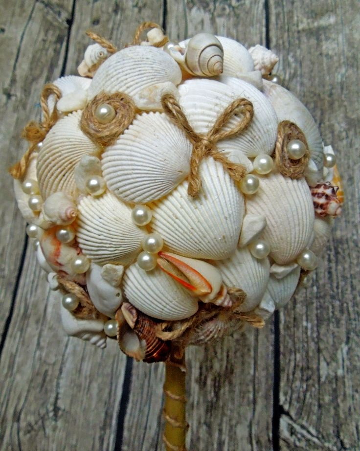 Beaute-non-standard: Мастер-класс: топиарий из морских ракушек
