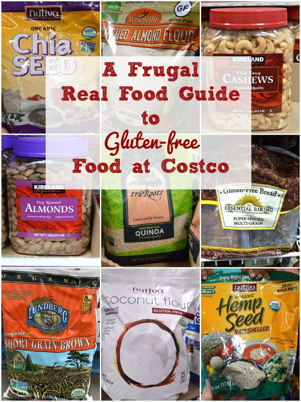 Real Food Guide to Gluten-free Food at Costco - PLUS Free Shopping List!
