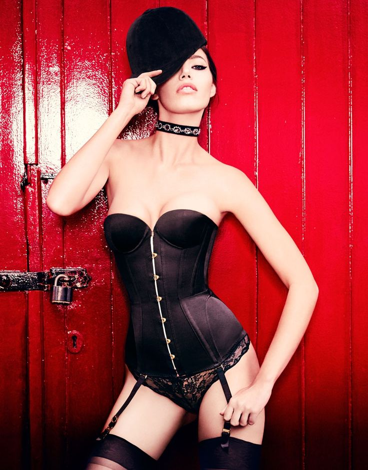 Mercy Satin corset by Agent Provocateur