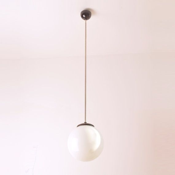 Bauhaus style bakelite lights by Kumbal on Etsy