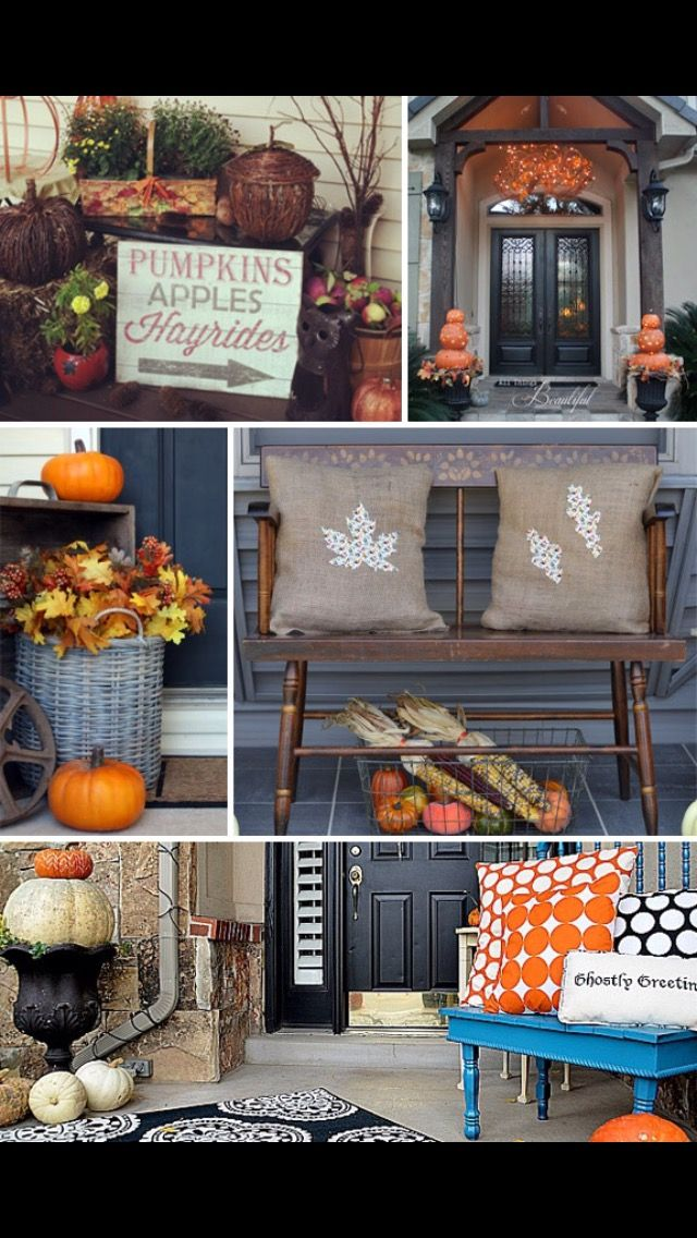 670 best harvest images on pinterest | fall, fall decorations and ... - Patio Halloween Decorating Ideas