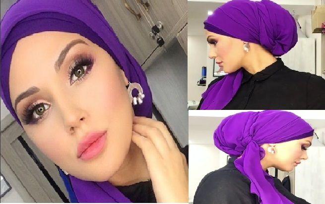 Tuto Hijab Chic Et Fashion : Voici Comment Mettre Le Hijab Chic – Inspirez Vous !!!   astuces hijab