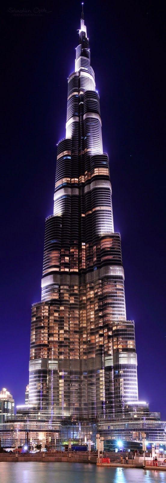 Panorama of Burj Khalifa
