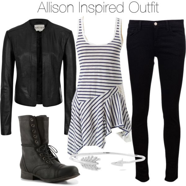 """Allison Inspired Outfit"" by veterization on Polyvore"