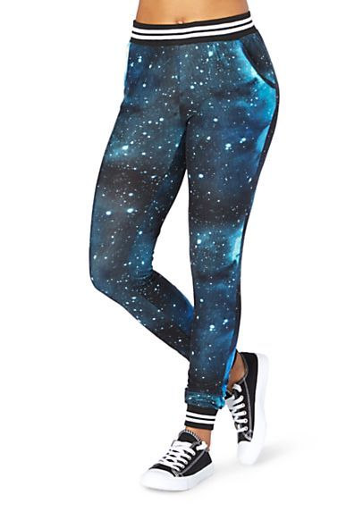 Just bought these exact galaxy joggers at Rue 21