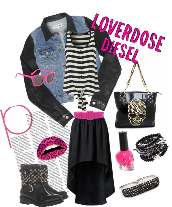 """Loverdose Diesel"" by chlochlo5525 on Polyvore"