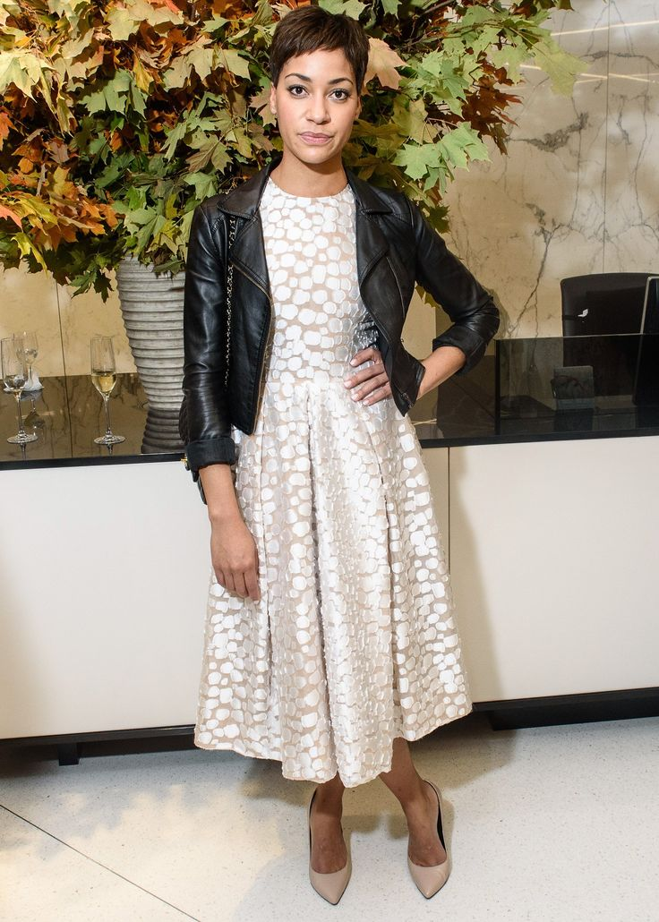 Cush Jumbo in Michael Kors Collection and Chanel