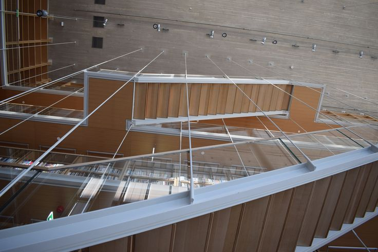 Κέντρο Πολιτισμού Ίδρυμα Σταύρος Νιάρχος (ΚΠΙΣΝ)  - Stairs, Up & Down , It all depends upon how you look at ... by E_Klou