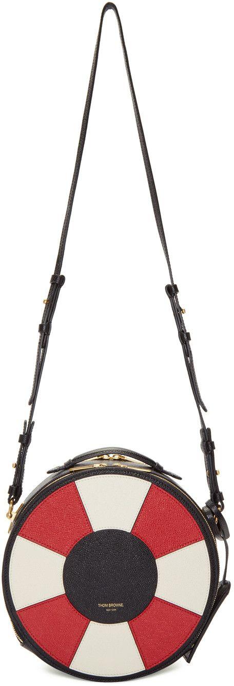Thom Browne - Black Life Preserver Bag