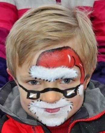 pintacaritas navidad - Buscar con Google