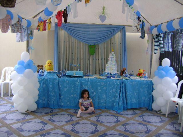 Decoraci n de baby shower recuerdos para baby shower - Decoration de baby shower ...
