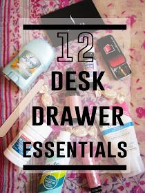 The View Is Beautiful: Office Emergency Kit – 12 Desk Drawer Essentials
