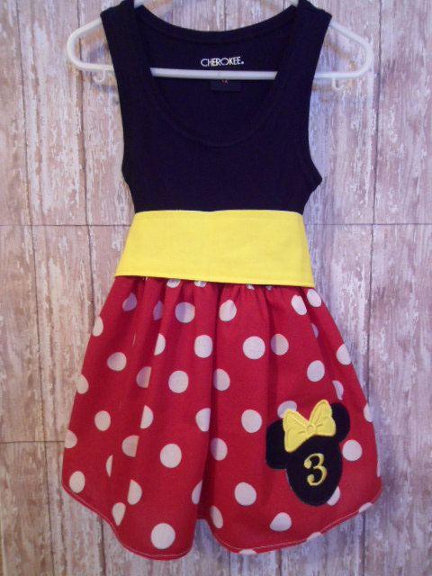 yellow dress 5t minnie