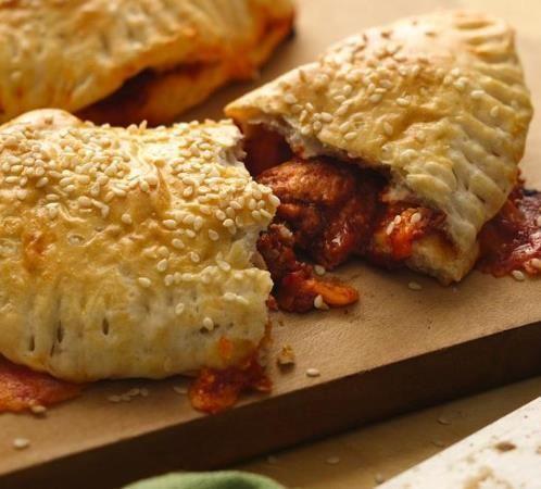 Enjoy these ground turkey unsloppy janes made using Pillsbury® Grands!® refrigerated biscuits--a delicious baked dinner!#widget