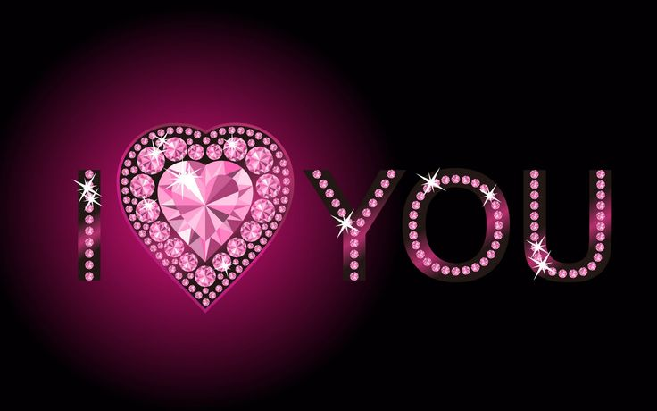 happy valentine days diamond design wallpaper