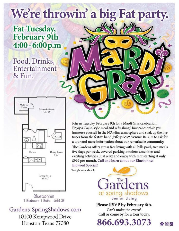 MardiGras at The Gardens