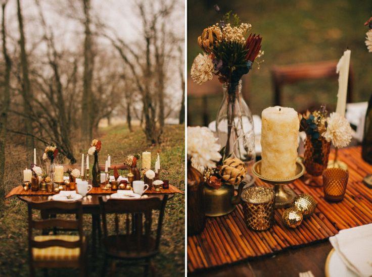 Pinterest Winter Wedding Centerpieces: A Winter Wedding Ashley Dru » Indiana Wedding And Portrait