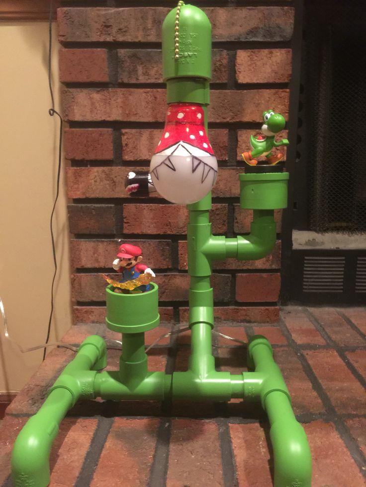 PVC Super Mario lamp