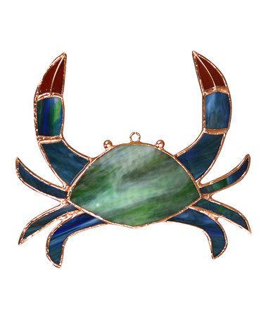 Look what I found on #zulily! Green Crab Suncatcher #zulilyfinds
