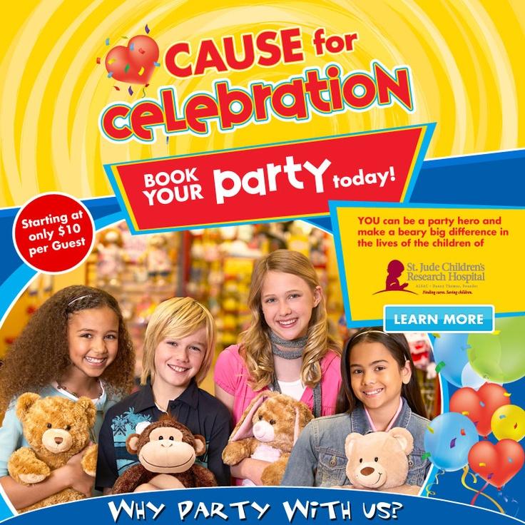 Build A Bear Workshop Party Supplies