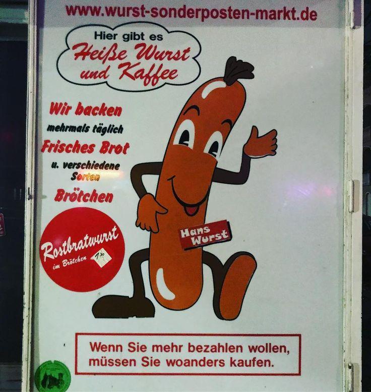Hans Wurst. #ads #advertising #werbung #wurst #sausage #hanswurst #würstchen #berlin #neukölln #neukoelln #berlincity #wurstwerbung #funnyads #comic #britz