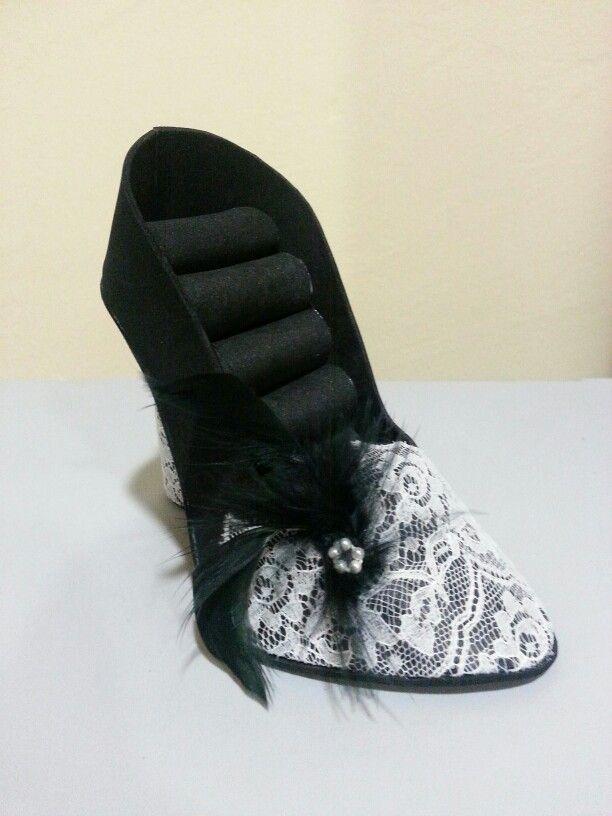 Zapato Joyero en goma eva bbcreativeshop.artesanum.com