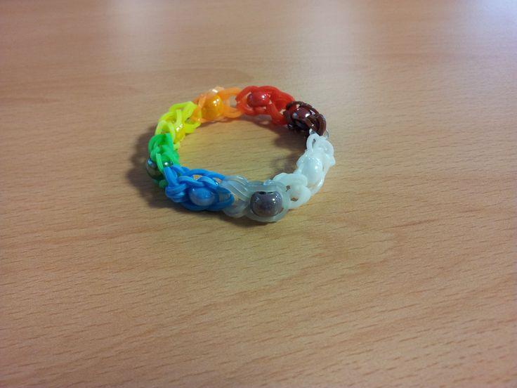 Bracelet élastique avec perles de Louna
